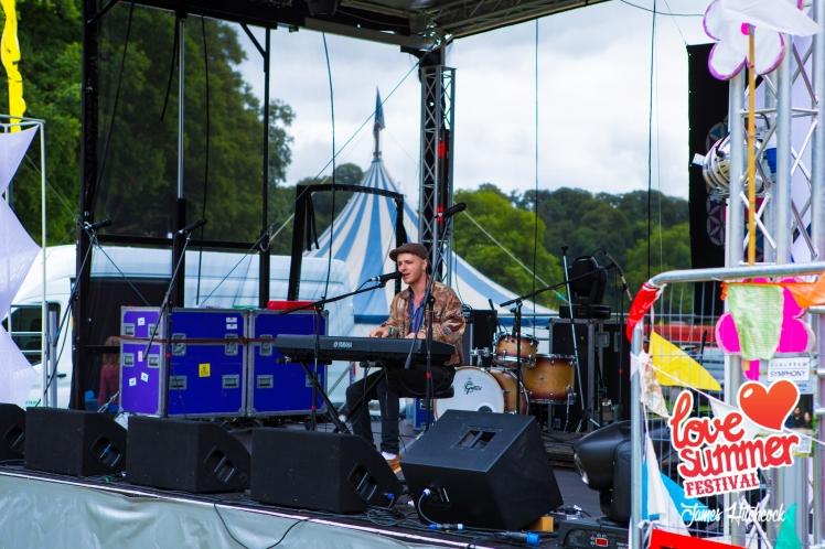 Daniel Williams at Love Summer Festival 2017 ©James_Hitchcock