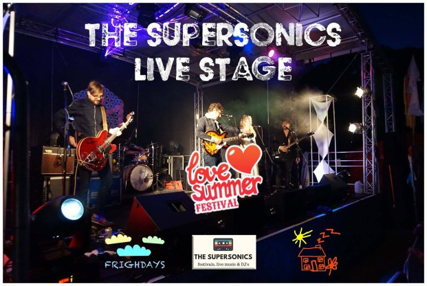 Love Summer 2017 - Supersonics Live Stage