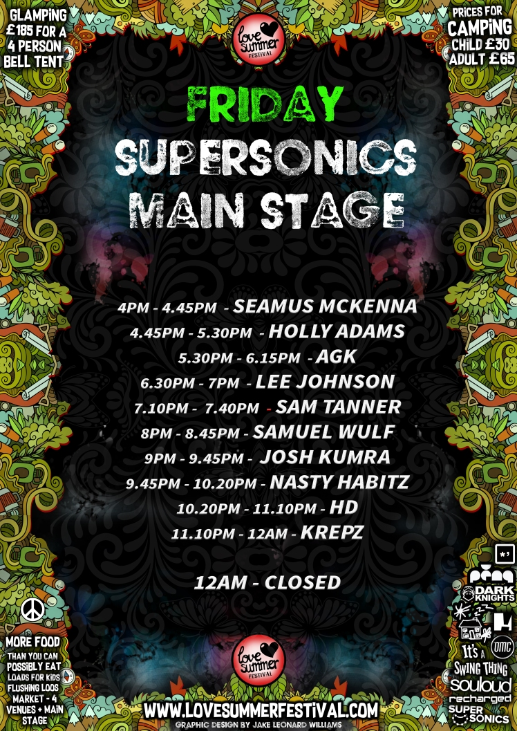 Love Summer Festival - Supersonics Stage - Friday