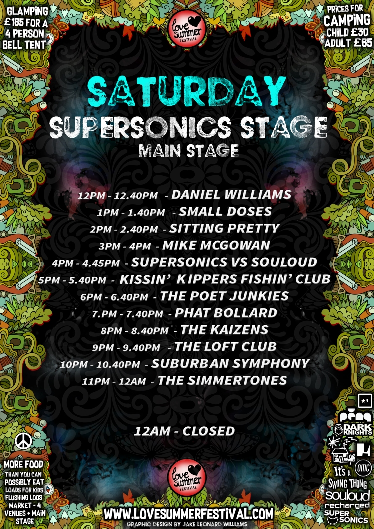Love Summer Festival 2017 - Saturday - SUPERSONICS Stage